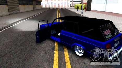 Lada 2104 S Kombi para la visión correcta GTA San Andreas