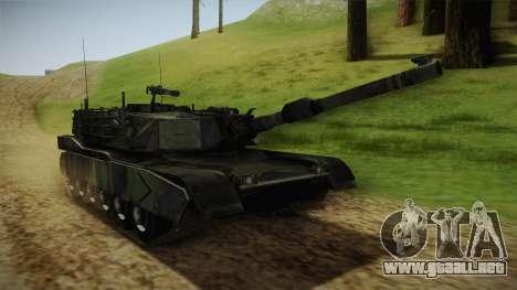 Abrams Tank Woolant Camo para la visión correcta GTA San Andreas