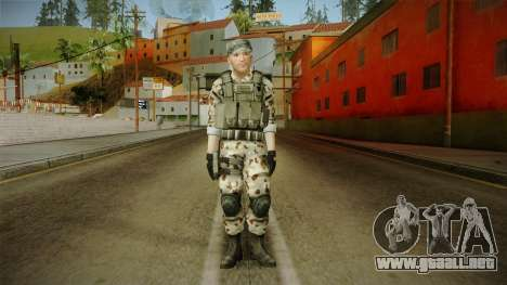 Resident Evil ORC Spec Ops v4 para GTA San Andreas segunda pantalla
