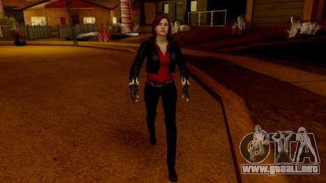 Resident Evil Revelations 2 - Claire Biker para GTA San Andreas