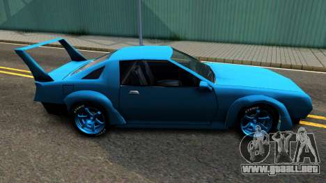 New Buffalo Custom para GTA San Andreas left