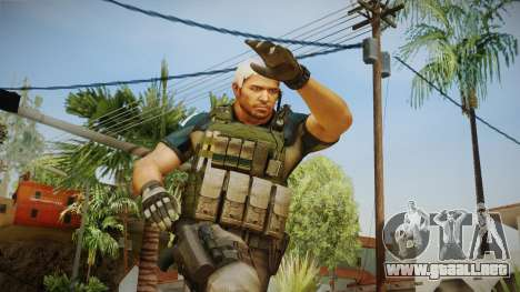 Resident Evil 6 - Chris Asia Bsaa para GTA San Andreas