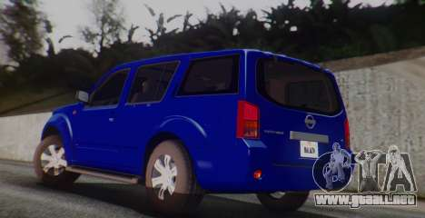 Nissan Pathfinder para GTA San Andreas left