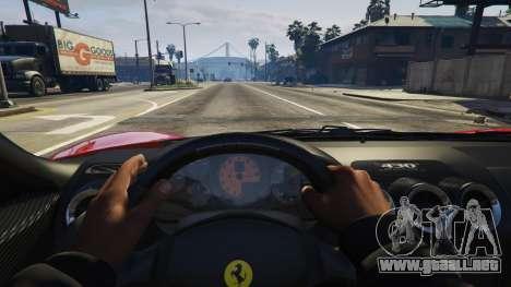 GTA 5 Ferrari 430 Scuderia vista lateral derecha