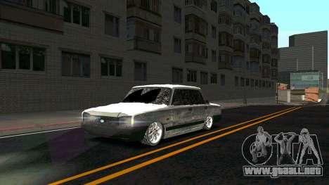 2107 Clásico de la 2 edición de Invierno para GTA San Andreas