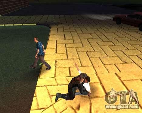 Para llevar el cadáver de 2016 para GTA San Andreas séptima pantalla
