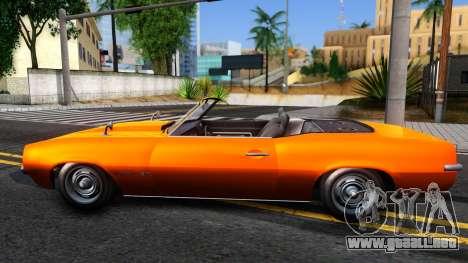 GTA V Declasse Vigero Retro Rim para GTA San Andreas left