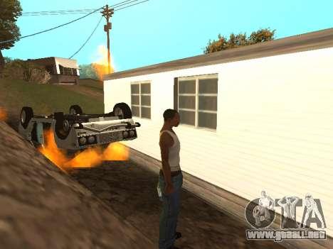 VAZ 2101 (06) de Garaje 54 para visión interna GTA San Andreas