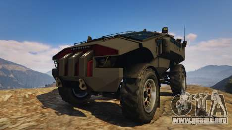 Punisher Unarmed Version para GTA 5