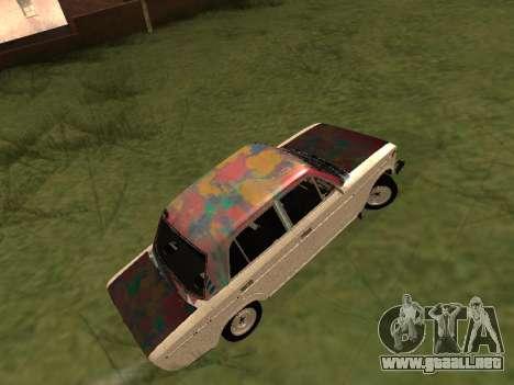 VAZ 2101 (06) de Garaje 54 para la visión correcta GTA San Andreas
