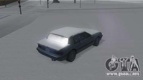 Bravura Winter IVF para GTA San Andreas left