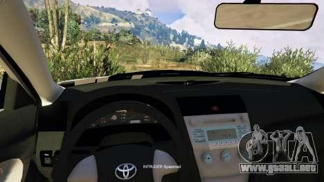 GTA 5 Toyota Camry 2011 DoN DoN Edition vista lateral derecha