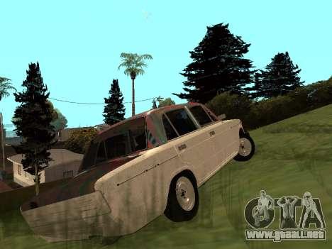 VAZ 2101 (06) de Garaje 54 para GTA San Andreas vista posterior izquierda