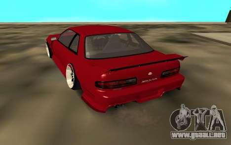 Nissan Onivea para GTA San Andreas vista posterior izquierda