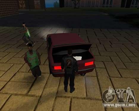 Para llevar el cadáver de 2016 para GTA San Andreas novena de pantalla
