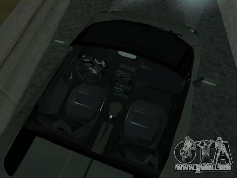 Lamborghini Galardo Spider para la vista superior GTA San Andreas