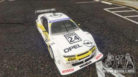 GTA 5 Opel Calibra DTM vista lateral trasera derecha