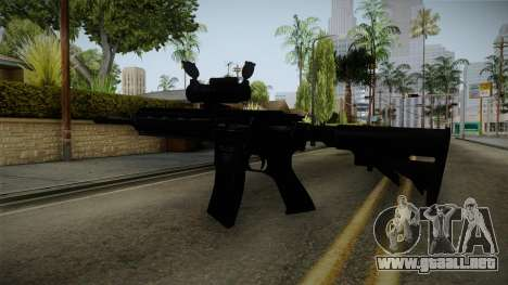 HK416 v2 para GTA San Andreas tercera pantalla