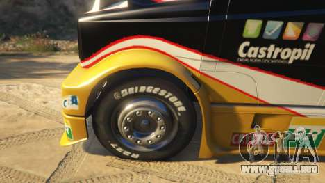 Ftruck Mercedes L Series v2 para GTA 5