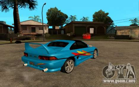 Toyota MR2 GT para la vista superior GTA San Andreas