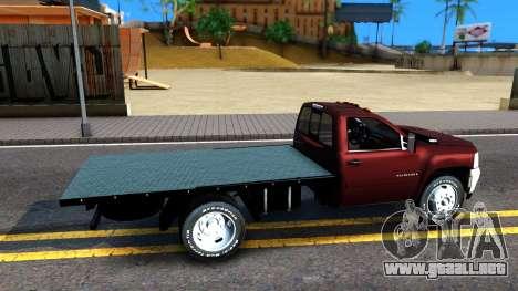 Chevrolet HD 3500 2013 para la visión correcta GTA San Andreas