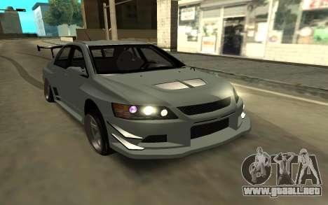 Mitsubishi Lancer Evo9 para GTA San Andreas