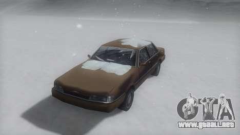 Primo Winter IVF para GTA San Andreas