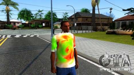 Mix T-Shirt para GTA San Andreas segunda pantalla