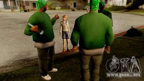 Resident Evil ORC - Sherry Birkin (YoungKid) para GTA San Andreas tercera pantalla