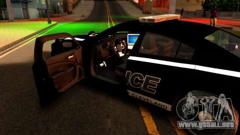 2014 Dodge Charger Cleveland TN Police para visión interna GTA San Andreas