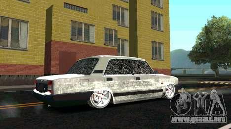 2107 Clásico de la 2 edición de Invierno para la visión correcta GTA San Andreas