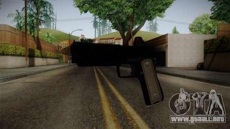 GTA 5 Heavy Pistol para GTA San Andreas segunda pantalla