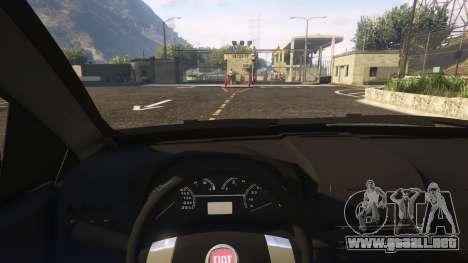 GTA 5 Fiat Bravo 2011 vista lateral derecha