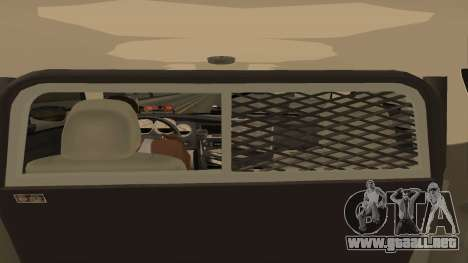 Dodge Charger County Sheriff para visión interna GTA San Andreas