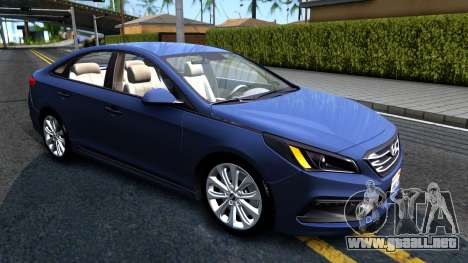 Hyundai Sonata 2016 para GTA San Andreas left