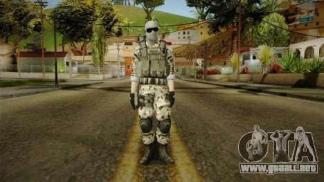 Resident Evil ORC Spec Ops v2 para GTA San Andreas segunda pantalla