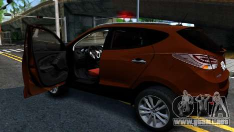 Hyundai ix35 Aze para la visión correcta GTA San Andreas