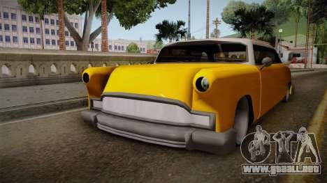 Custom Cab para la visión correcta GTA San Andreas