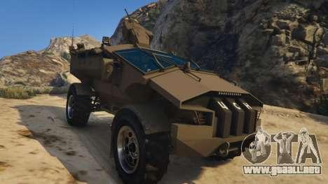 Punisher Khaki Armed Version para GTA 5