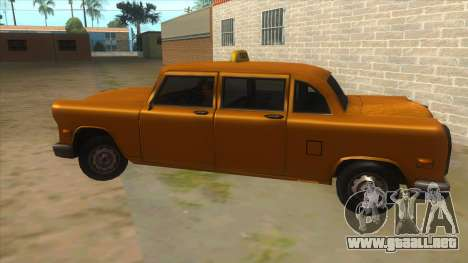VC Cabbie Xbox para GTA San Andreas left