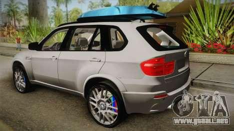 BMW X5M 2012 Special para GTA San Andreas left
