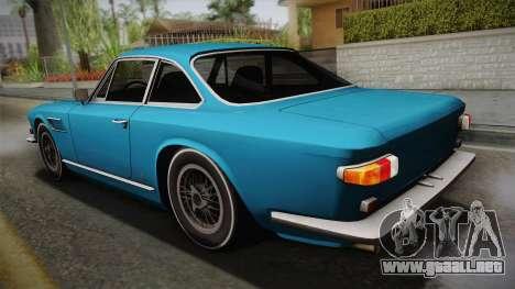 Maserati Serbin 4000 v0.1 (Beta) para GTA San Andreas left