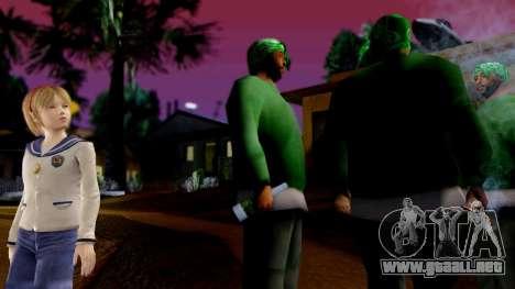 Resident Evil ORC - Sherry Birkin (YoungKid) para GTA San Andreas segunda pantalla