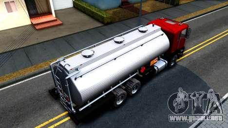 GTA V MTL Dune Oil Tanker para la visión correcta GTA San Andreas