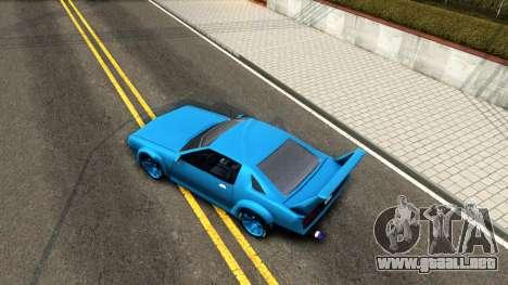 New Buffalo Custom para la visión correcta GTA San Andreas