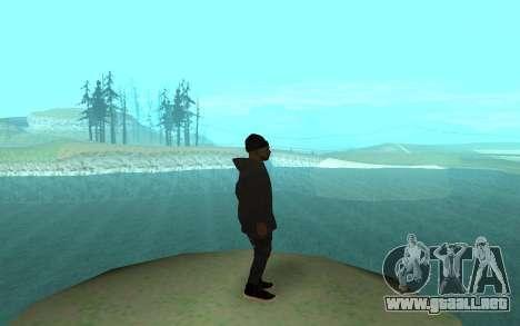 Winter Gangster para GTA San Andreas segunda pantalla