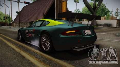 Aston Martin Racing DBRS9 GT3 2006 v1.0.6 YCH para las ruedas de GTA San Andreas
