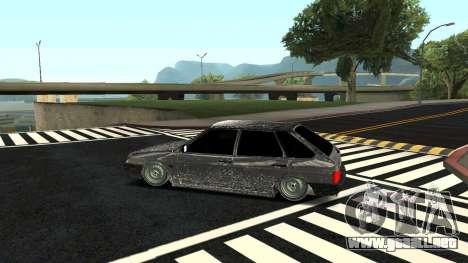 2109 versión de Invierno para GTA San Andreas left