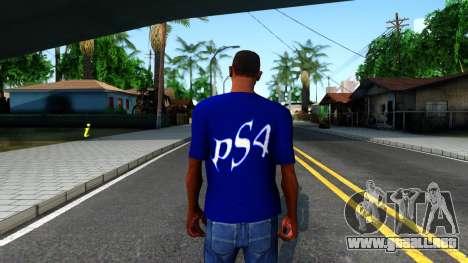 T-Shirt PS4 para GTA San Andreas tercera pantalla