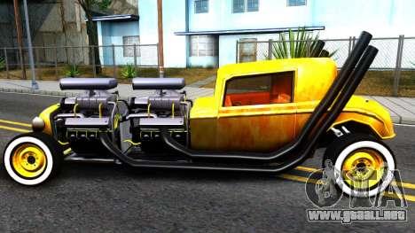 Hotknife Double V8 para GTA San Andreas left